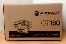 4 X MONITOR AUDIO CT180 IN-CEILING SPEAKERS.