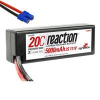 Dynamite Reaction 11.1V 5000mAh 20C 3S LiPo Hardcase Battery EC3 Connector