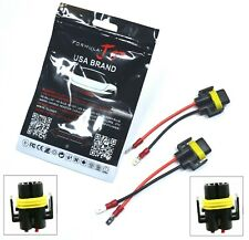 Conversion Wire H11 To H11B Two Harness Head Light Pigtail LED Halogen Bulb Plug