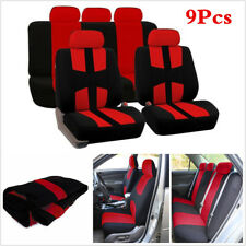 Universal Car Seat Covers Universal 9 Set Full Car Seat Cover for Sedans Autos