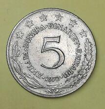 Iugoslavia 5 Dinara 1972