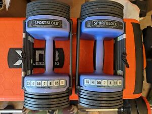 Powerblock Sport 11kg Adjustable Dumbbell Set