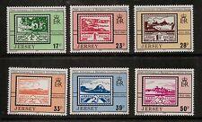 Jersey estampillada sin montar o nunca montada Umm sello conjunto 1993 SG 628-633 50TH aniversario blampieds ocupación sellos