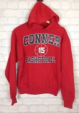 VINTAGE RETRO USA COLLEGE BASKETBALL HOODIE SWEATER SWEATSHIRT 90'S FESTIVAL S