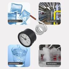 TW-W53 Dial Thermometer Capillary Temperature Gauge Water & Oil Meter Sensor SL