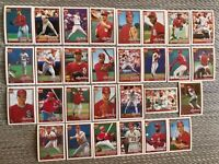 1991 ST LOUIS CARDINALS Topps 40th COMPLETE Baseball Team Set 29 Cards SMITH !