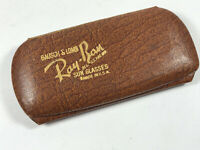 VERY UNUSUAL Antique Bausch & Lomb Ray-Ban Sun Glasses snap CASE ONLY