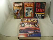 David Eddings 4 Books Prequels of The Belgariad Series Classic Fantasy