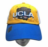 UCLA Bruins Sports Football Cap Hat Snapback Yellow Blue College