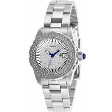 Invicta Angel 28439 Women's Round Analog Stainless Steel Crystal Dial Watch