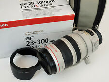 Canon EF 28-300mm F/3.5-5.6 L IS USM Lens Very Good Condition