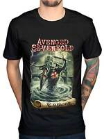 Official Avenged Sevenfold England NEW Graphic Men's T-Shirt A7X Band Metal Rock