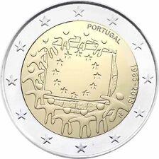 PORTUGAL  2 EUROS 2015 - 30 AÑOS DE LA BANDERA DE EUROPA  - SIN CIRCULAR -