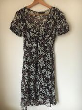 Dress Size 8 Lined Floral Polyester F&F <T14033