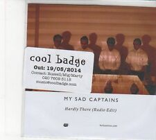 (FD236) My Sad Captains, Hardly There - 2014 DJ CD