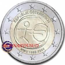 2 Euro Commémorative Autriche 2009 - 10 Ans de l'Euro EMU