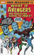 Avengers What If Comic Issue 1 Classic Reprint True Believers 2018 Glut Black