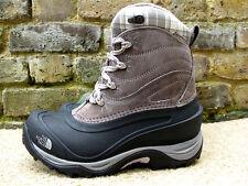 UK4; EU37 NORTH FACE LADIES CHILLKAT II WINTER BOOTS GREY-BLACK WATERPROOF BOOTS