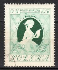 Poland - 1957 Stamp Day - Mi. 1030 VFU