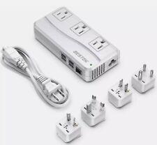 BESTEK 250W Travel Adapter & Power Converter MODEL White