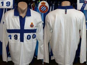 Retro Style Rcd Espanyol Producte Oficial Top Shirt Longsleeve Camiseta Spain