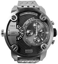 Diesel Men's SBA DZ7259 Silver Stainless-Steel Quartz Watch