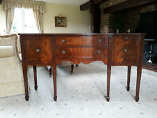 More details for georgian bow fronted mahogany sideboard in excellent condition (c1910/20)