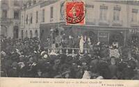 CPA 71 CHALON SUR SAONE CARNAVAL 1912 SA MAJESTE CHICRILLE III
