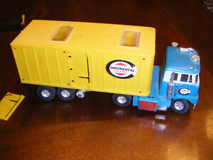 Vintage 1960s Ideal Motorific Rare Continental Semi Truck
