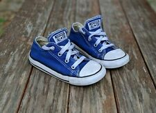 Chuck Taylor All Star Ox TD 'Radio Blue' Toddler Size 9
