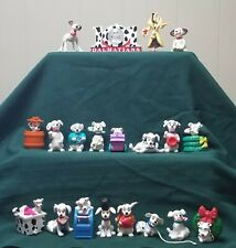 McDonald's (1996) Disney 101 Dalmatians Snow Globe,Cruella,plus(18)assorted pups