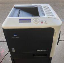 Konica Minolta, Bizhub C3100P, Colour Duplex Laser Printer, LOW MILEAGE.