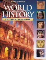 Mcdougal Littell World History Grades 9-12  by MCDOUGAL LITTEL