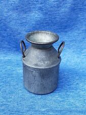 Antique Miniature Doll Metal  Milk  Cream Can for old fashioned Kitchen