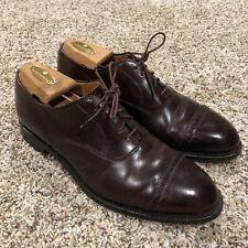 Alden Men's 8 B/D Color 8 Shell Cordovan Cap Toe Perforated Tip Oxfords 9015