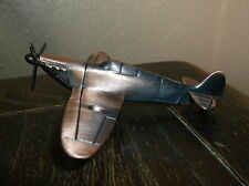 Metal SPITFIRE war plane PENCIL SHARPENER approx. 6.5cm long x 12cm wide