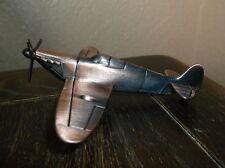 Metal SPITFIRE war plane PENCIL SHARPENER approx. 6.5cm long x 12cm wide