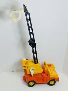 Vintage Fisher Price #314 Big Husky Boom Crane