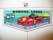 OA Mowogo 243,S-69,2010,100th Ann BSA Jamboree Flap,WHT Bd,NE Georgia Council,GA