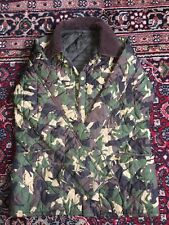 Boys Barbour quilted camoflage jacket