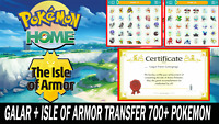 Pokemon Sword and Shield Full Galar Pokedex & The Isle of Armor ULTRA SHINY BR!!