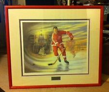 "James Lumbers ""MR HOCKEY""(Gordie Howe"") Limited Ed. #6435/9999"