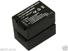 2x DMW-BMB9 BMB9E BMB9PP Battery for Panasonic DMC-FZ100 DMC-FZ150 DMC-FZ40 fZ45