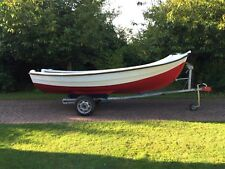14ft GRP Open Boat/ Day Boat/ Fishing boat/ Family Fun And Snipe Trailer