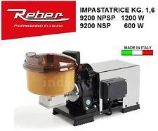 Indici15 Impastatrice Elettrica INOX 9200NPSP 5 1200W 1,50HP Professionale Reber