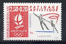 STAMP / TIMBRE FRANCE NEUF N° 2737 ** JEUX OLYMPIQUE ALBERVILLE 1992 PATINAGE