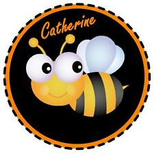 CUTE BUMBLE BEE - PERSONALISED FUN CAR TAX DISC HOLDER - NAME - REUSABLE - GIFT