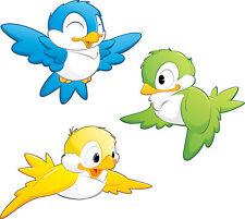 stickers enfant Oiseaux 30x30cm réf 3560