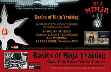 NINJA TRAINING Black Belt 9 DVD set: BUJINKAN NINJUTSU Roemke Hatsumi
