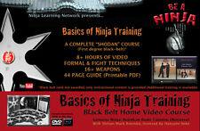 NINJA TRAINING Black Belt 9 DVD set: BUJINKAN NINJUTSU Roemke Hatsumi